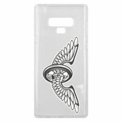 Чохол для Samsung Note 9 Колесо та крила