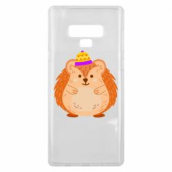 Чохол для Samsung Note 9 Little hedgehog in a hat