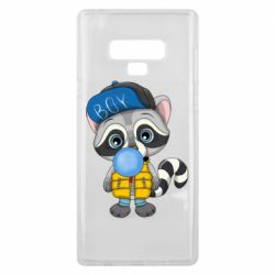 Чехол для Samsung Note 9 Little raccoon
