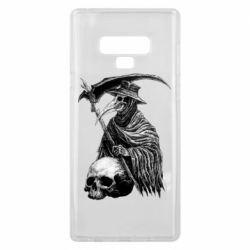 Чехол для Samsung Note 9 Plague Doctor graphic arts