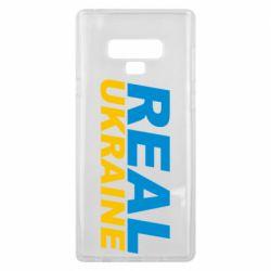 Чехол для Samsung Note 9 Real Ukraine