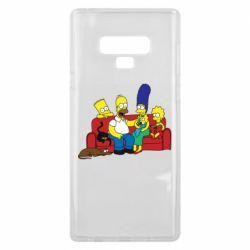 Чехол для Samsung Note 9 Simpsons At Home