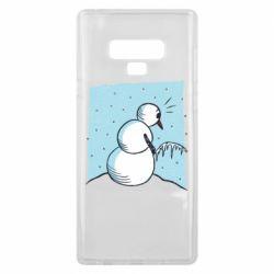 Чохол для Samsung Note 9 Snowman. It's Cold!