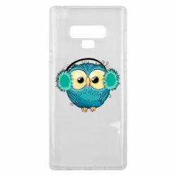 Чехол для Samsung Note 9 Winter owl