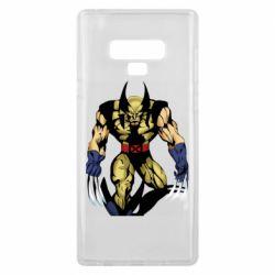 Чохол для Samsung Note 9 Wolverine comics