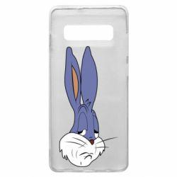 Чохол для Samsung S10+ Bugs Bunny Meme Face