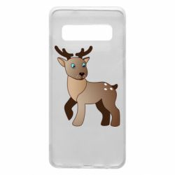 Чехол для Samsung S10 Cartoon deer