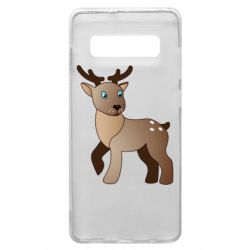 Чехол для Samsung S10+ Cartoon deer