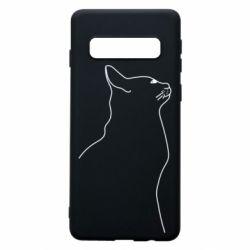 Чохол для Samsung S10 Cat line