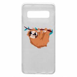 Чохол для Samsung S10 Cute sloth