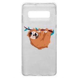 Чохол для Samsung S10+ Cute sloth