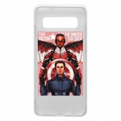 Чохол для Samsung S10 Falcon and the Winter Soldier Art