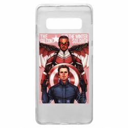 Чохол для Samsung S10+ Falcon and the Winter Soldier Art