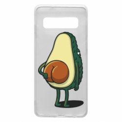 Чохол для Samsung S10 Funny avocado
