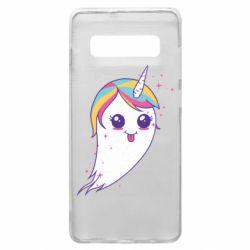 Чохол для Samsung S10+ Ghost Unicorn