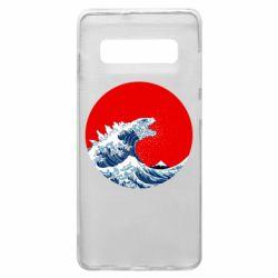 Чохол для Samsung S10+ Godzilla Wave