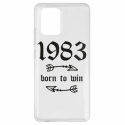 Чохол для Samsung S10 1983 Born to win