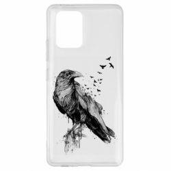 Чохол для Samsung S10 A pack of ravens