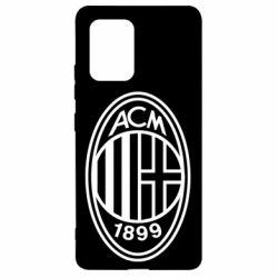 Чохол для Samsung S10 AC Milan logo