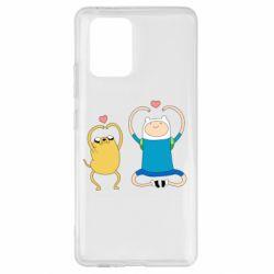 Чохол для Samsung S10 Adventure time