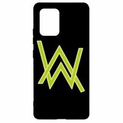 Чехол для Samsung S10 Lite Alan Walker neon logo