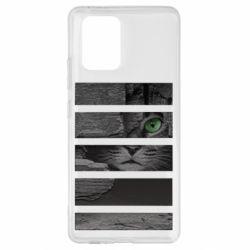 Чехол для Samsung S10 Lite All seeing cat