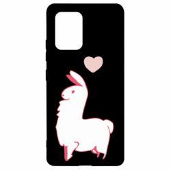 Чохол для Samsung S10 Alpaca with a heart