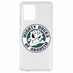 Чехол для Samsung S10 Lite Anaheim Mighty Ducks Logo