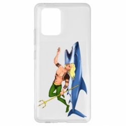 Чехол для Samsung S10 Lite Aquaman with a shark