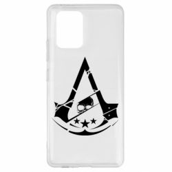 Чехол для Samsung S10 Lite Assassin's Creed and skull 1