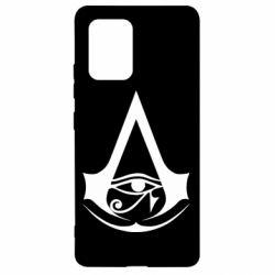 Чохол для Samsung S10 Assassin's Creed Origins logo