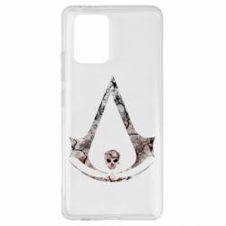 Чехол для Samsung S10 Lite Assassins Creed and skull