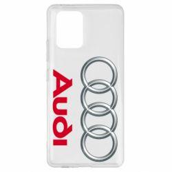 Чохол для Samsung S10 Audi 3D Logo