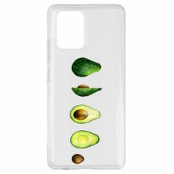 Чехол для Samsung S10 Lite Avocado set