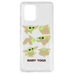 Чехол для Samsung S10 Lite Baby Yoga