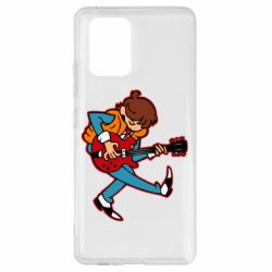Чехол для Samsung S10 Lite Back to the Future Marty McFly