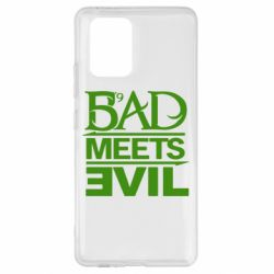 Чехол для Samsung S10 Lite Bad Meets Evil