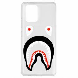 Чехол для Samsung S10 Lite Bape shark logo