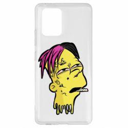 Чехол для Samsung S10 Lite Bart as Lil Peep