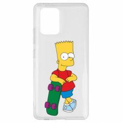 Чохол для Samsung S10 Bart Simpson