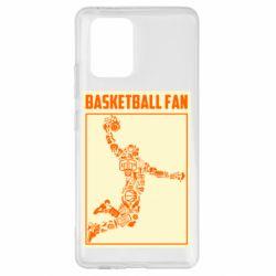 Чохол для Samsung S10 Basketball fan