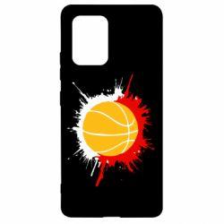 Чехол для Samsung S10 Lite Баскетбольный мяч