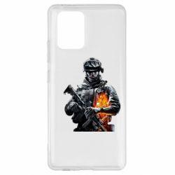 Чехол для Samsung S10 Lite Battlefield Warrior