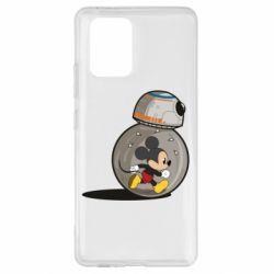 Чехол для Samsung S10 Lite BB-8 and Mickey Mouse