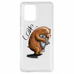 Чехол для Samsung S10 Lite Bear hugs a hare