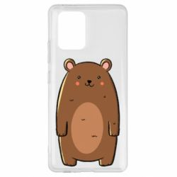 Чехол для Samsung S10 Lite Bear with a smile