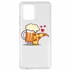 Чохол для Samsung S10 Beer and Pizza were kissed