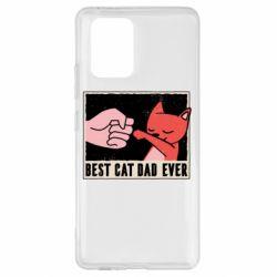 Чехол для Samsung S10 Lite Best cat dad ever