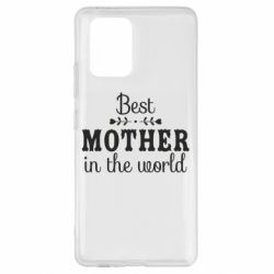 Чохол для Samsung S10 Best mother in the world