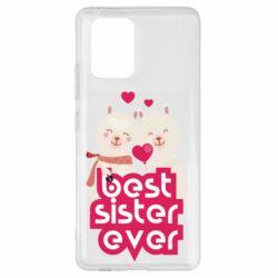 Чохол для Samsung S10 Best sister ever